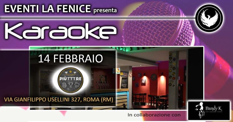 2020_02_14 - Piùtre - Karaoke