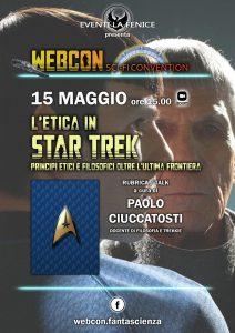 Webcon maggio 2021 - L'etica in Star Trek