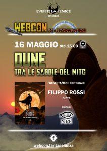 """Webcon maggio 2021 - Presentazione editoriale """"Dune - Tra le sabbie del mito"""""""