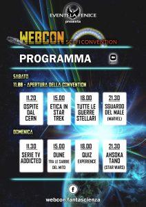 Programma Webcon maggio 2021